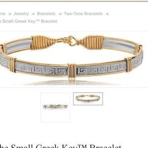 Ronaldo Greek Key Bracelet